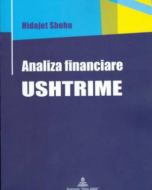 Analiza Financiare, Ushtrime -Hidajet Shehu