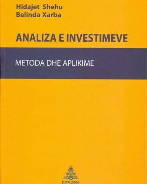 Analiza e Investimeve- Hidajet Shehu, Belinda Xarba