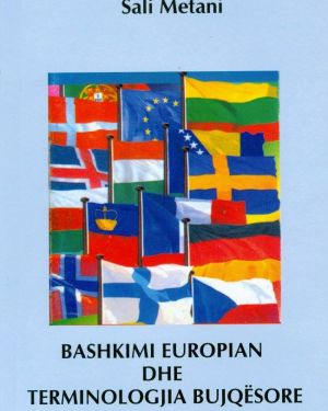 Bashkimi Europian dhe Terminologjia Bujqësore- Sali Metani