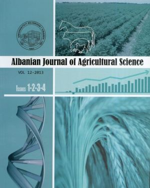 Albanian Journal of Agricultural Science- Agricultural University of Tirana