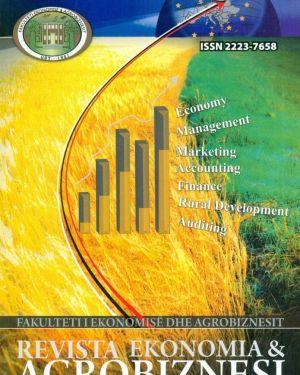 Revista Ekonomia & Agrobiznesi- Fakulteti i Ekonomisë dhe Agrobiznesit, Universiteti Bujqësor i Tiranës