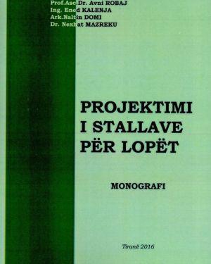 Projektimi i Stallave Për Lopët- Emilian Shabani, Ervin Mezini, Avni Robaj, Ened Kalenja, Nexhat Mazreku