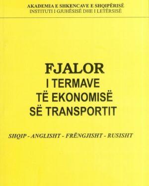 Fjalor i termave te ekonomise se transportit- Akademia e Shkencave e Shqiperise