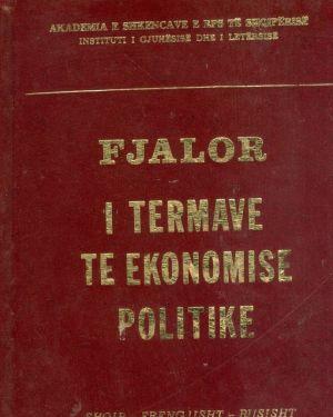 Fjalor i termave te ekonomise politike- Akademia e shkencave