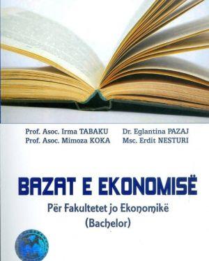 Bazat e Ekonomise- Irma Tabaku, Eglantina Pazaj, Mimoza Koka, Erdit Nesturi