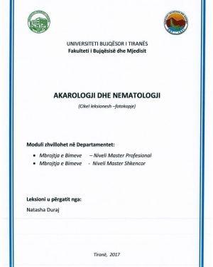 akarologji dhe nematologji -natasha duraj