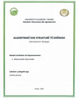 algoritmike dhe strukture te dhenash -amelina ahmeti
