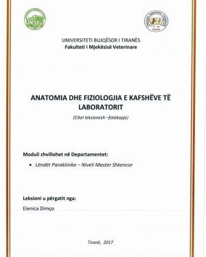 Anatomia dhe Fiziologjia e Kafsheve te Laboratorit -Elenica Dimco