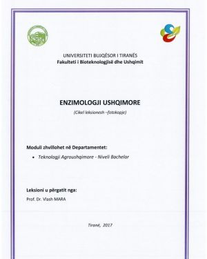 Enzimologji Ushqimore -Vlash Mara