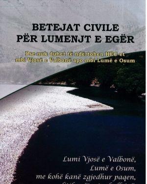 Betejat Civile per Lumenjte e Eger -Sazan Guri