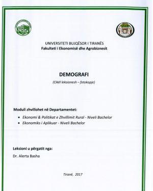demografi – dr. alerta basha